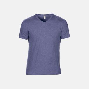 Spräckliga t-shirts med reklamtryck