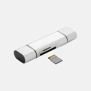 SD kortläsare med USB 2.0 med reklamtryck