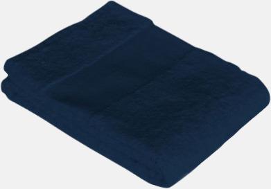 Navy Blue Stora badlakan med egen brodyr