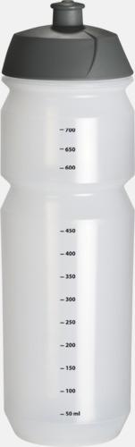 Transparent med mått (75 cl) Vattenflaska med eget tryck