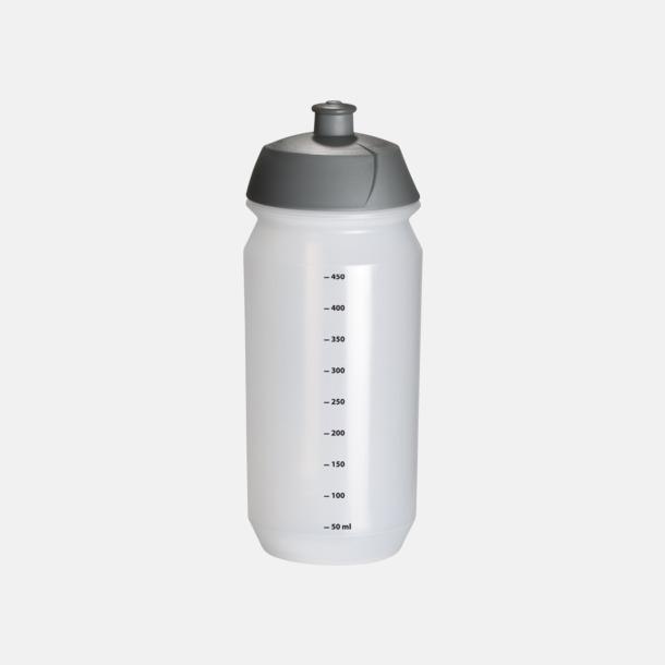 Transparent med mått (50 cl) Vattenflaska med eget tryck