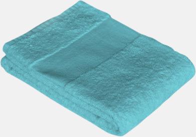 Blu ecaracao Prisvärda handdukar i flera storlekar med brodyr