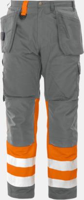 Orange Varselbyxor Klass 1