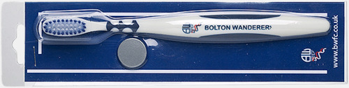 Skjutblister (se tillval) Tandborstar med magnet på baksidan med eget reklamtryck