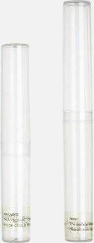 Reserör (ingår) Tandborstar med magnet på baksidan med eget reklamtryck