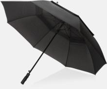 """30"""" stormparaplyer från Swiss Peak med reklamtryck"""