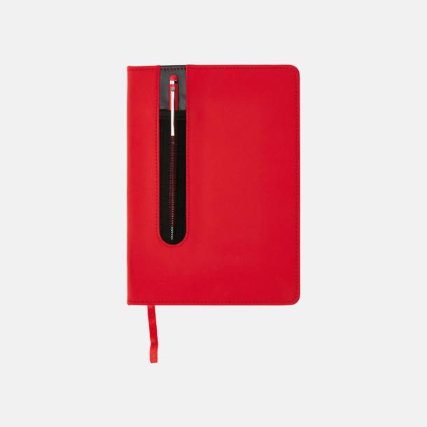 Anteckningsbok med matchande penna med reklamtryck