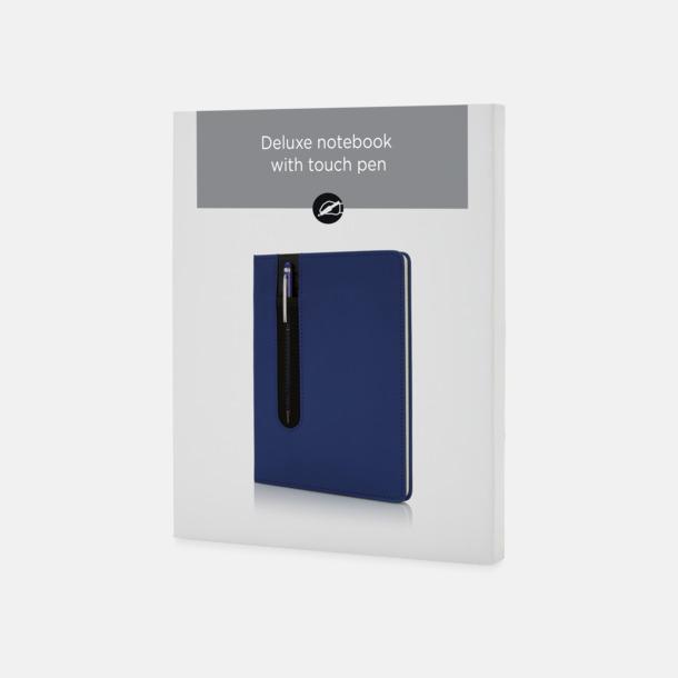 Presentförpackning Anteckningsbok med matchande penna med reklamtryck