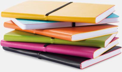 Konstläder anteckningsböcker i A5 med eget reklamtryck