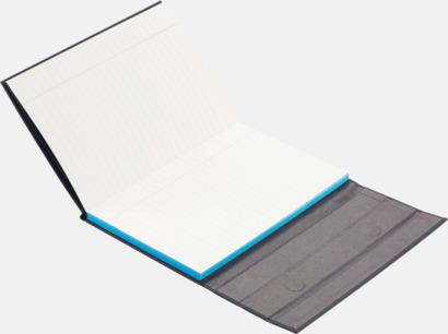Anteckningsbok med tablet stand med reklamtryck