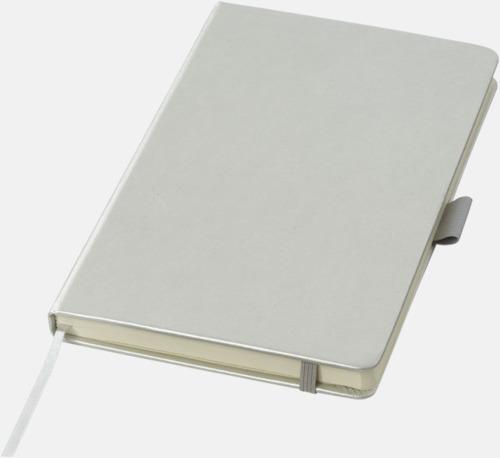 Silver Gyllene anteckningsböcker med reklamtryck