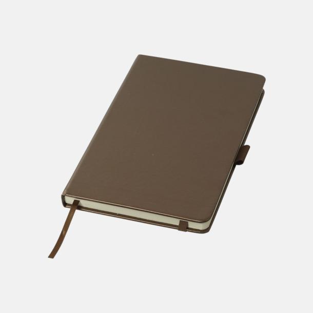 Brons Gyllene anteckningsböcker med reklamtryck