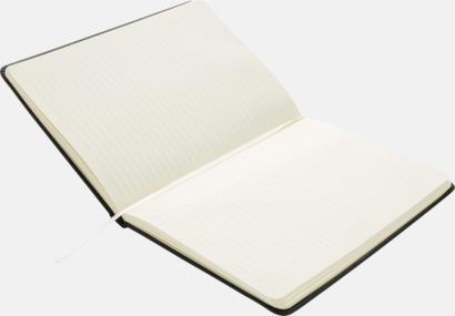 A5-konstläder anteckningsböcker med reklamtryck