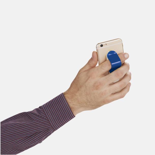 Hållare och ställ för mobilen i plast - med reklamlogo