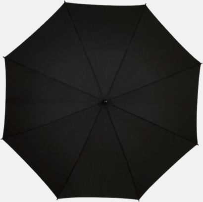 Färgade stormparaplyer med reklamtryck
