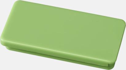 Limegrön Askar med läppglans - med reklamtryck