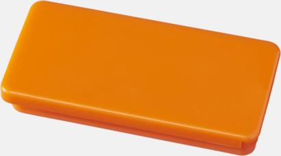 Orange Askar med läppglans - med reklamtryck