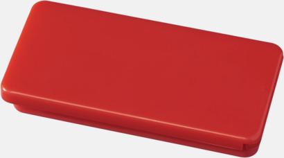 Röd Askar med läppglans - med reklamtryck