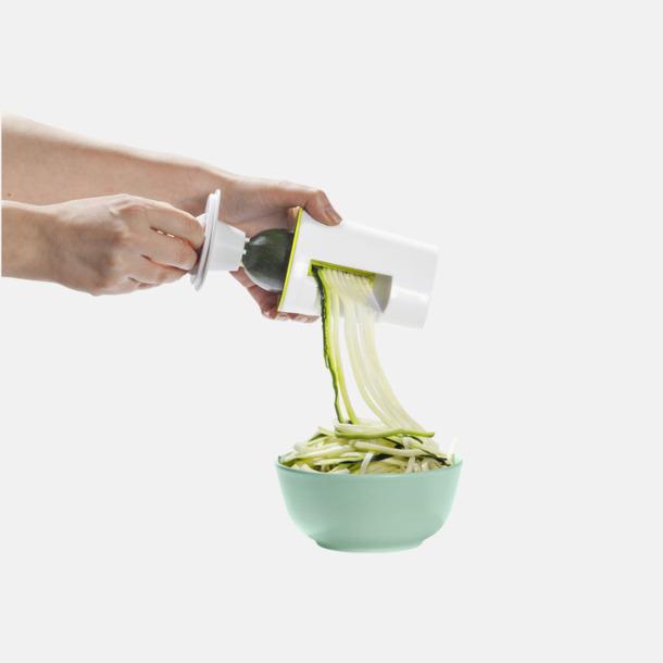 Grönsakssvarvar med reklamtryck