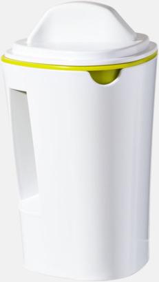 Vit / Limegrön Grönsakssvarvar med reklamtryck