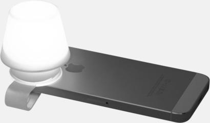 Liten lampa för mobiltelefonen & ställ - med reklamtryck