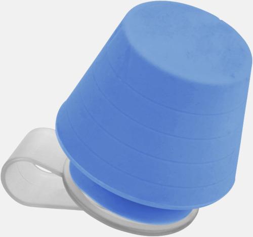 Blå Liten lampa för mobiltelefonen & ställ - med reklamtryck
