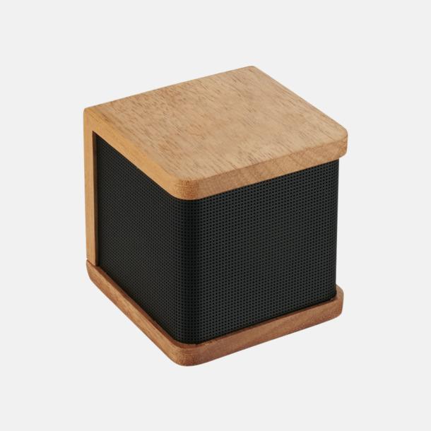 Trä Bluetooth-högtalare i trä med reklamlogo