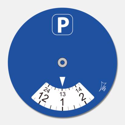Cirkel P-skivor som är ett klistermärke med eget tryck