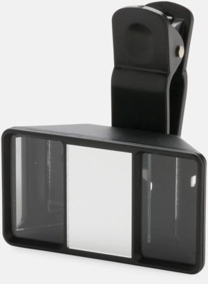 Svart Universala 3D-kameralinser med reklamtryck