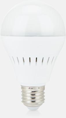 Vit LED-lampa & Bluetooth-högtalare med reklamtryck