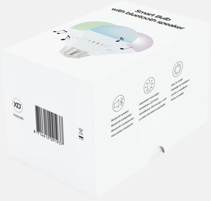 Presentförpackning LED-lampa & Bluetooth-högtalare med reklamtryck