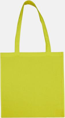 Limeade (långa handtag) Tygpåsar med långa eller korta handtag i flera färger med eget reklamtryck