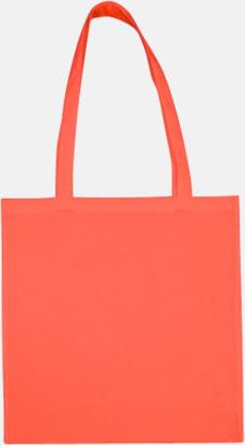 Peach Echo (långa handtag) Tygpåsar med långa eller korta handtag i flera färger med eget reklamtryck