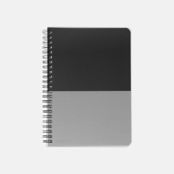 Framsida A6 & A5 spiral anteckningsböcker med reklamtryck
