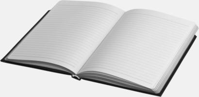 Anteckningsböcker med dubbla resårband med reklamtryck