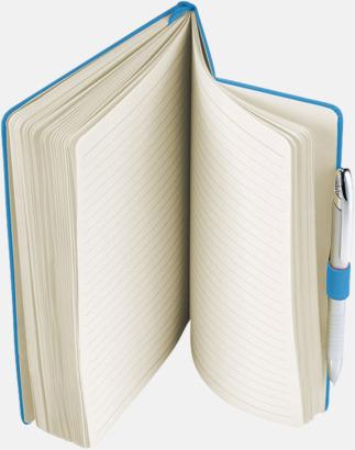 Anteckningsbok med flexibel baksida med reklamtryck