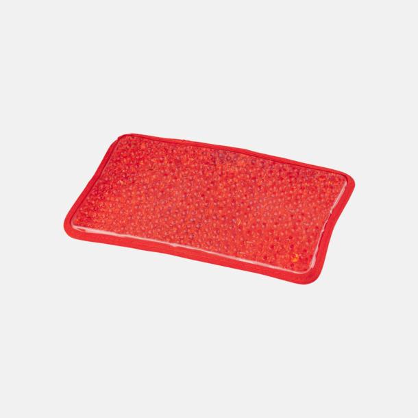 Röd (stor) Gelémasker i flera storlekar med reklamtryck