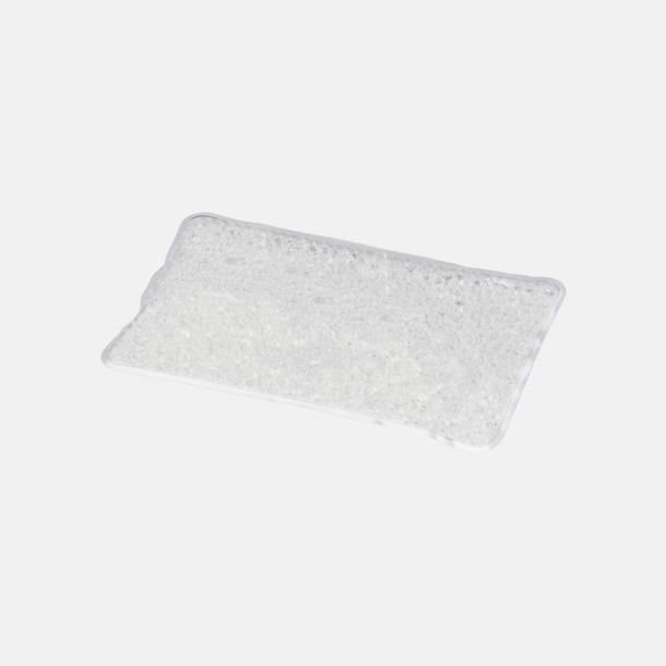 Clear (mellan) Gelémasker i flera storlekar med reklamtryck