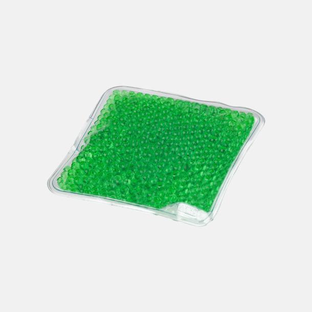 Grön (liten) Gelémasker i flera storlekar med reklamtryck