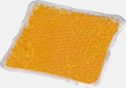 Orange (liten) Gelémasker i flera storlekar med reklamtryck