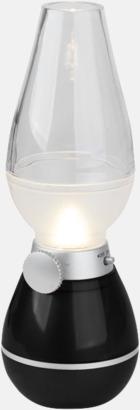 Svart Lanternor med reklamtryck