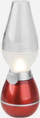 Röd Lanternor med reklamtryck
