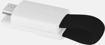 Magnetisk mikro-USB nyckelring med reklamtryck