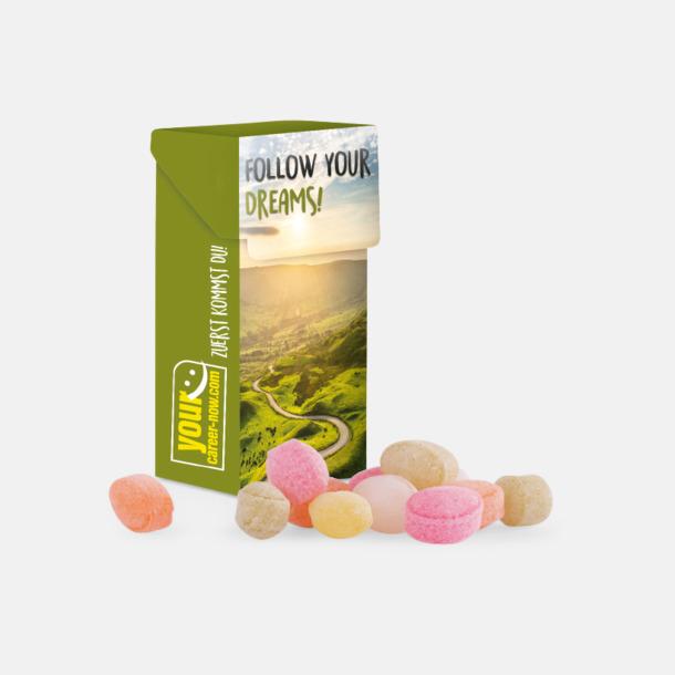 Mini Tablettaskar med vegangodis med eget reklamtryck