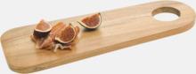 Skärbrädor i akacia med reklamtryck