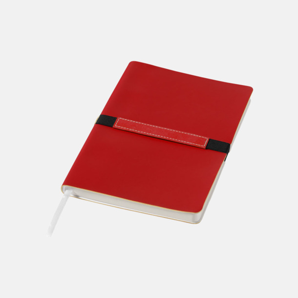 Röd A5-anteckningsböcker med reklamtryck