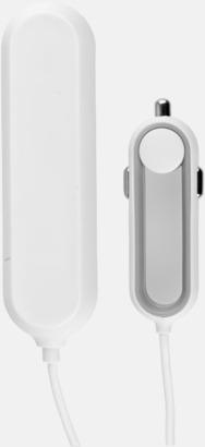 4 portad billaddare med reklamtryck