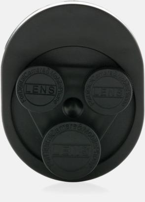 Framsida 3-i-1-linsklämmor med reklamtryck