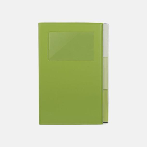 Framsida Anteckningsböcker med foldrar med reklamtryck