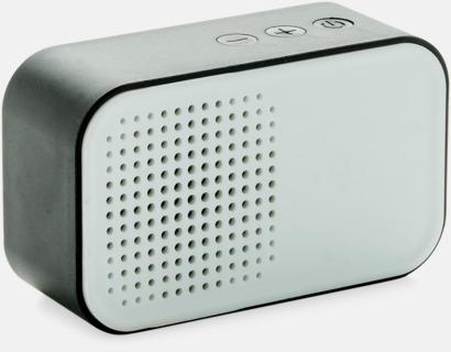Svart Snygga högtalare med reklamtryck